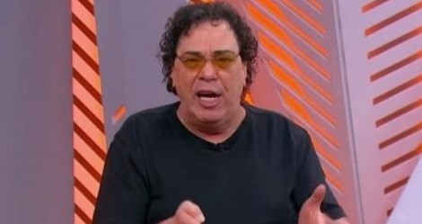 "Ao vivo, Casagrande ""surta"" novamente e volta a atacar atletas (veja o vídeo)"