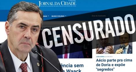 """O TSE nos colocou """"mordaça"""" e o Jornal da Cidade Online precisa de sua ajuda"""