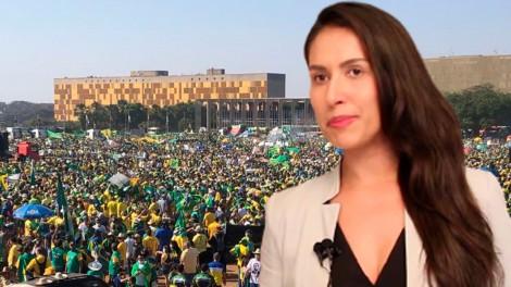 """""""O Brasil é resistência mundial nesse cenário de contaminação ideológica"""", afirma juíza Ludmila Lins Grilo (veja o vídeo)"""
