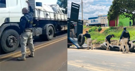URGENTE - Após pedido de Bolsonaro, PRF agiliza liberação nas estradas e caminhoneiros colaboram (veja o vídeo)