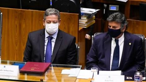 O momento em que Lira rebateu o discurso de Luiz Fux (veja o vídeo)
