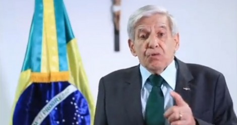 General Heleno faz pronunciamento histórico, coloca a esquerda em desespero e reafirma apoio ao presidente (veja o vídeo)