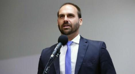 Eduardo satiriza manifestações de 12 de setembro e alfineta Datafolha