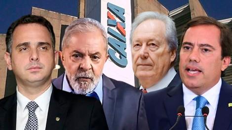 AO VIVO: Pacheco contra a liberdade / Lula e os 46 bilhões da Caixa (veja o vídeo)
