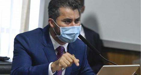Na CPI, Marcos Rogério extermina narrativa esdrúxula de Aziz, Renan e Randolfe (veja o vídeo)
