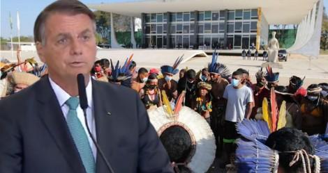 Derrubada do Novo Marco Temporal pode gerar fome mundial, prevê Bolsonaro (veja o vídeo)
