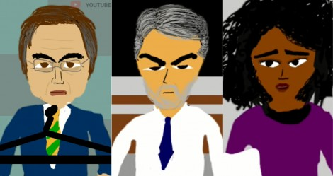 Vídeo icônico viraliza na web e satiriza o desespero de Bonner e Maju (veja o vídeo)
