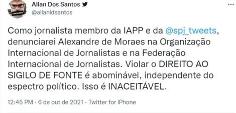 """470x0_1633535491_615dc60377e2a_hd Moraes age novamente e determina que a PF ouça """"fonte"""" no STF do jornalista Allan dos Santos"""