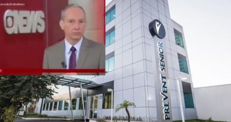 Em situação vexatória, âncora da GloboNews é obrigado a ler direito de resposta da Prevent Senior, ao vivo! (veja o vídeo)