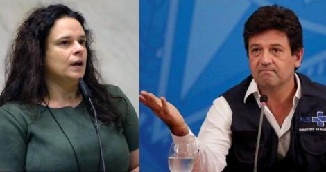"""Janaína responsabiliza Mandetta e diz que """"verdadeiro genocídio ocorreu na saúde de SP"""" (veja o vídeo)"""