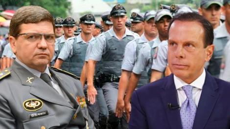 """Sob o comando de Doria: """"Nossos policiais estão morrendo"""", revela Major em depoimento dramático (veja o vídeo)"""