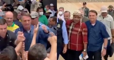 Na PB, a recepção foi ainda maior e popularidade de Bolsonaro 'explode' no Nordeste (veja o vídeo)