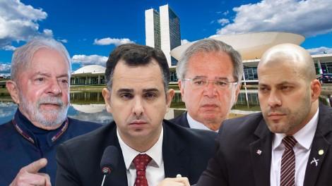 AO VIVO: Pacheco vice de Lula / Guedes fica no governo / STF mantém prisão de Daniel Silveira (veja o vídeo)