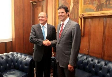 Lula apoia grupo político que articula chapa com Haddad e Alckmin