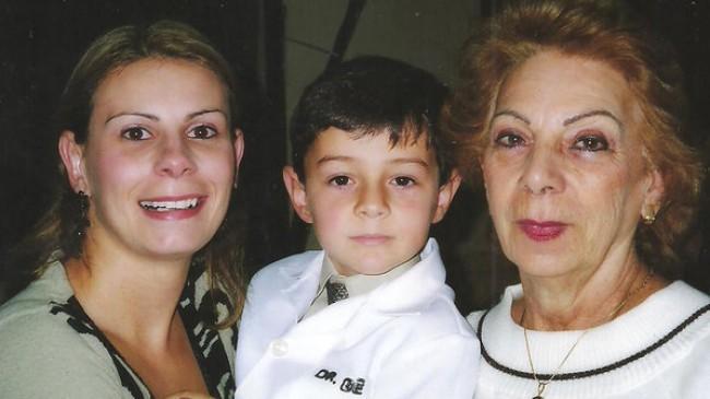 A mãe, Bernardo e a avó
