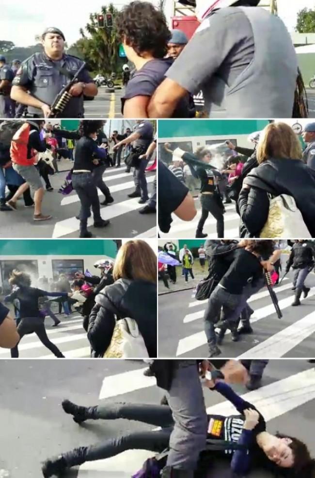 Ações da polícia despreparada
