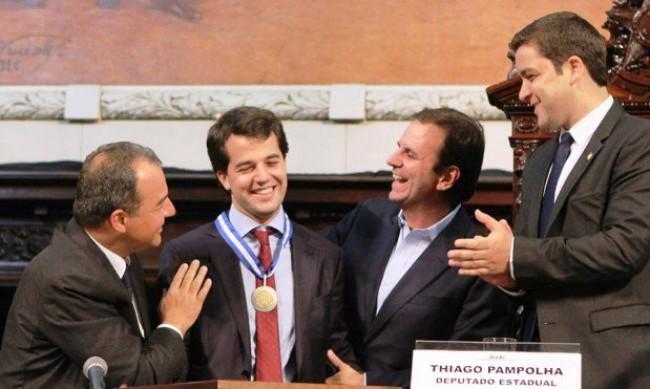 Cabral, Marco Antonio, Paes e Pampolha