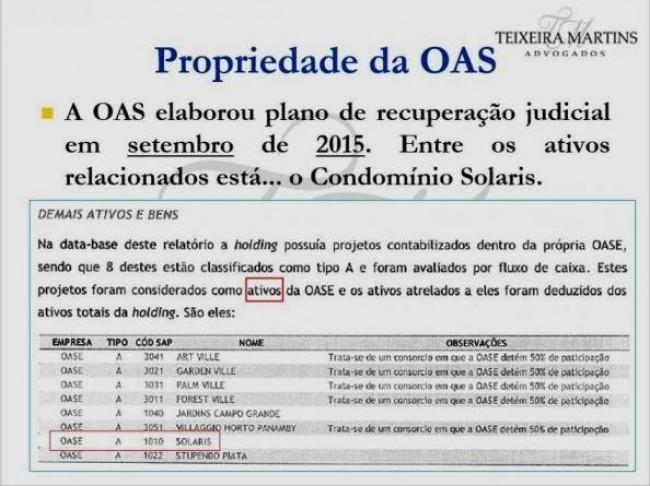 A prova de Lula