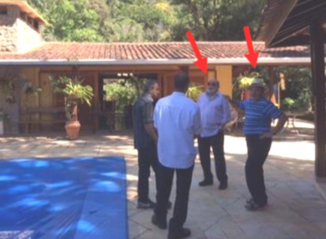 Lula é Léo Pinheiro no sítio