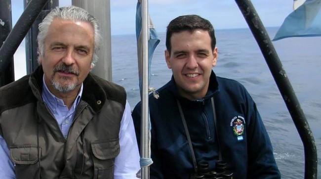 Jorge Bergallo e o Filho