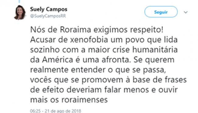 De Mulher Para Boulos Governadora De Roraima Detona O Inescrupuloso