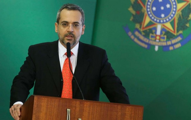 Abraham Weintraub, ministro da Educação — Foto: Antonio Cruz/Agência Brasil