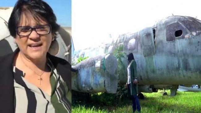 Resultado de imagem para aviao sucateado da funai damares