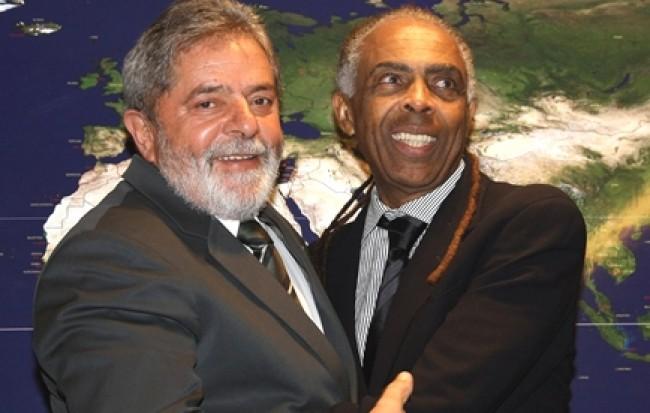 Gilberto Gil e Lula