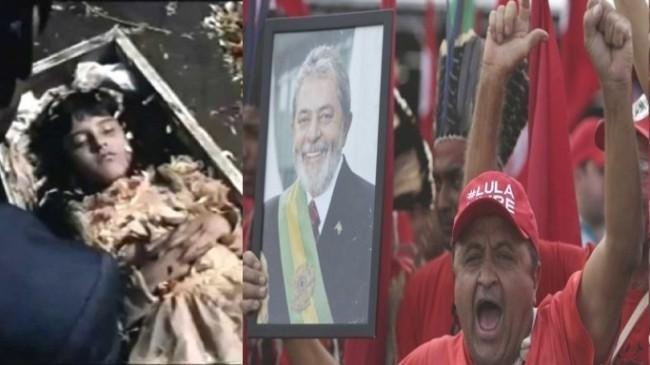 Foto Lula Livre: Aliance/AP Photo/E.Peres