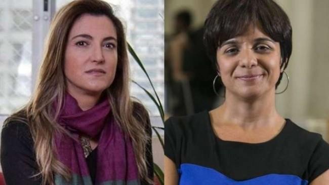 Patrícia Campos Mello e Vera Magalhães, da Folha e Estadão, respectivamente
