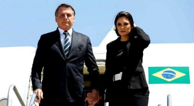 O presidente e a 1ª dama