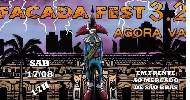 Cartaz do Facada Fest