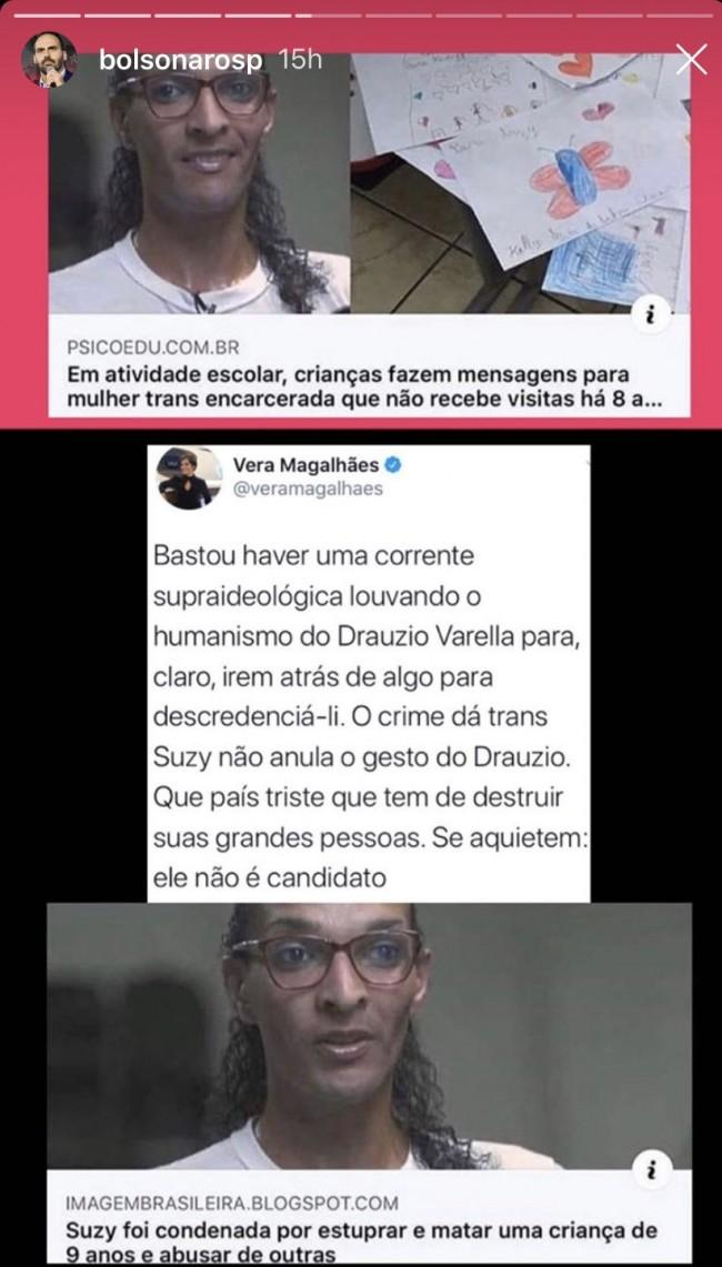 Captura de tela publicada por Marcelo de Carvalho no Twitter
