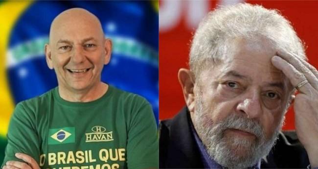 Fotomontagem: Luciano Hang e Lula