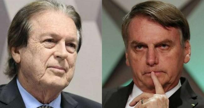 Fotomontagem: Luciano Bivar e Jair Bolsonaro