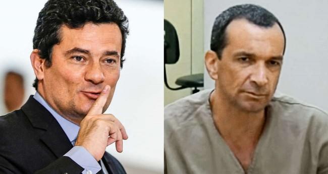Fotomontagem: Sérgio Moro e Marcola