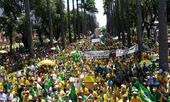 Manifestação popular de 15 de março
