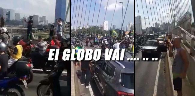 Manifestação popular em São Paulo
