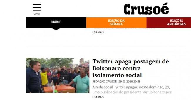 Nas redes sociais, jornalistas demonstraram satisfação com a notícia