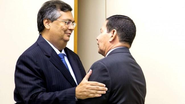 O encontro entre Flávio Dino e o general Mourão