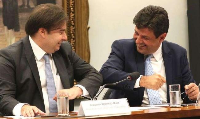 Rodrigo Maia e Luiz Henrique Mandetta