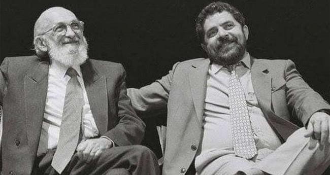 Paulo freire e Lula