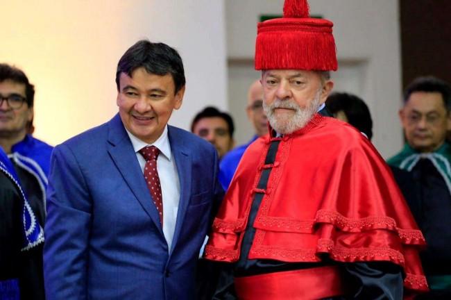 Wellington Dias e Lula