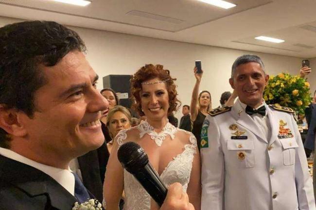 Casamento da deputada Carla Zambelli