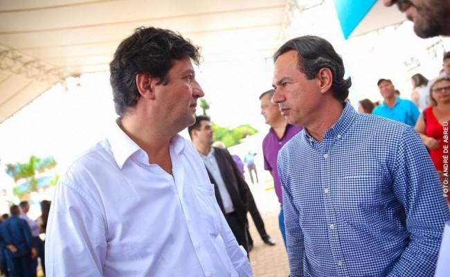 Luiz Henrique Mandetta e o primo, Marquinhos Trad