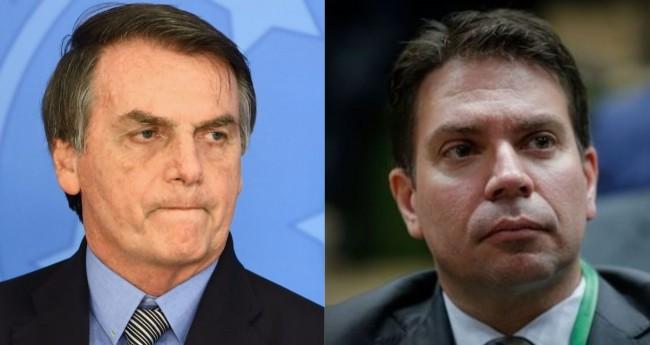 Fotomontagem: Jair Bolsonaro e Alexandre Ramagem