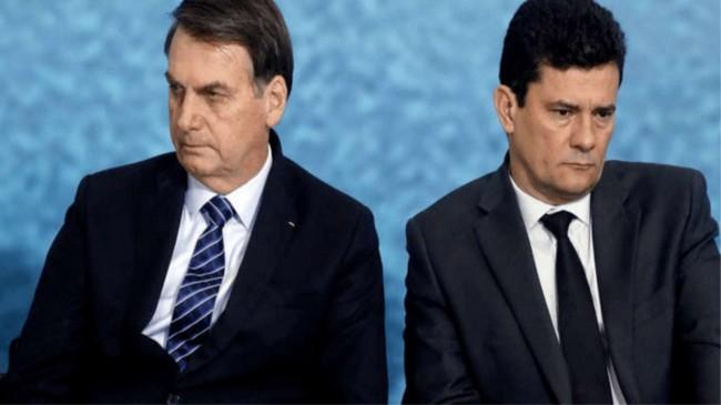 Jair Bolsonaro e Sérgio Moro