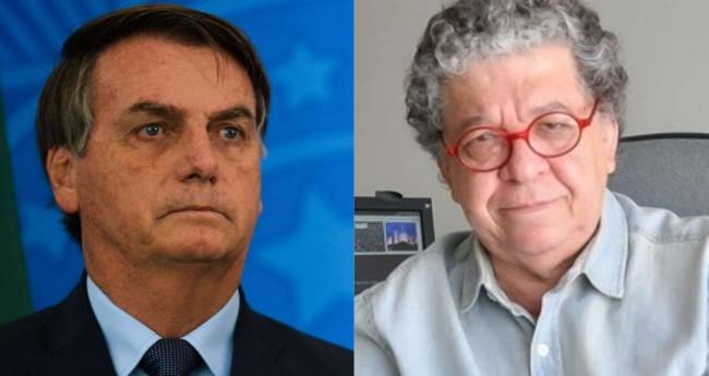 Fotomontagem: Jair Bolsonaro e Orlando Brito