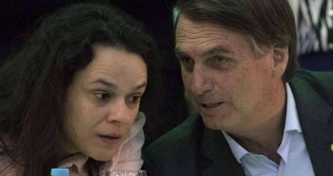 Janaína Paschoal e Jair Bolsonaro