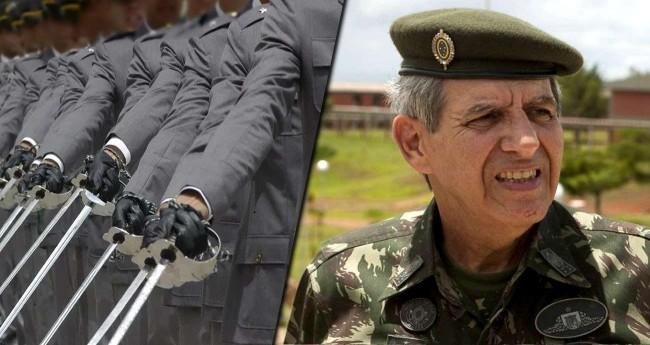 Fotomontagem: General Augusto Heleno